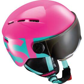 Rossignol Juniors Visor Helmet Pink